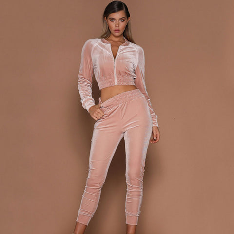 Callie Valour Casual Tracksuit - SavVy Bitch Co., Tracksuits, SavVy Bitch Co., SavVy Bitch Co.