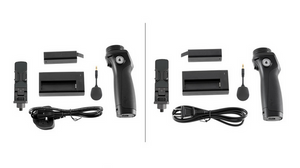 DJI Osmo Handle Kit showing all pieces included