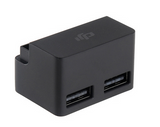 DJI Mavic Pro Battery to Power Bank showing the dual USB ports