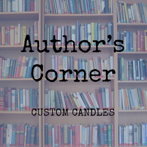 Author's Corner - Your Book's Custom Candle