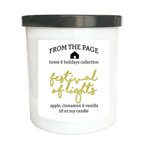 Festival of Lights 10 oz candle