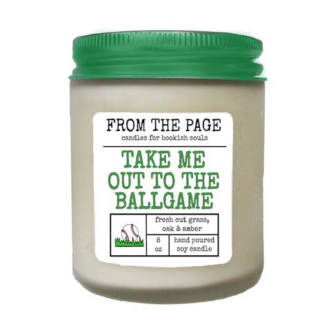 Take Me Out to the Ballgame - Candle of the Month
