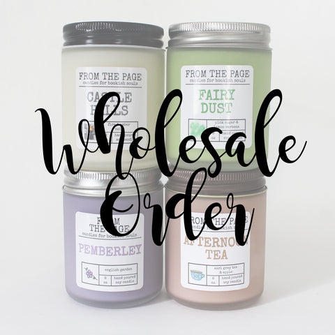 Wholesale Order - Astoria