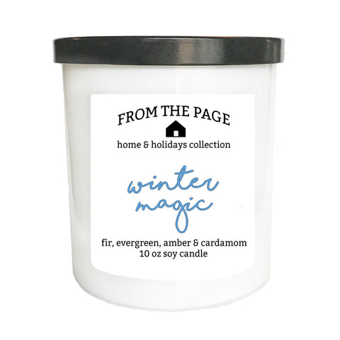 Winter Magic 10 oz candle