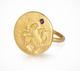 GOLD ARIELLE RING