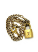 LOCK NECKLACE 14-18""