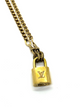 LOCK CHAINLINK NECKLACE