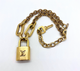 SHORT LOCK NECKLACE