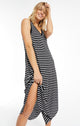 REVERIE INVERTED STRIPE DRESS