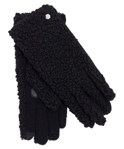 FAUX SHEARLING TOUCH GLOVE