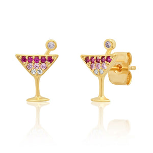 MARTINI GLASS STUDS