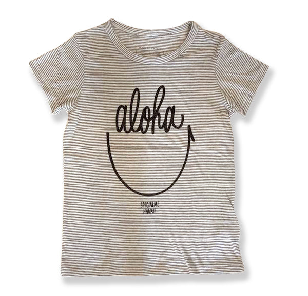 specialme Aloha Smile Striped Tee