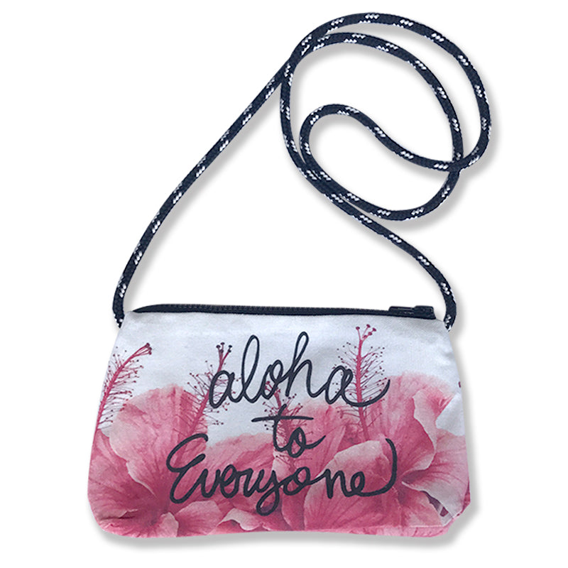 specialme x surf couture cross body bag <Hibiscus>