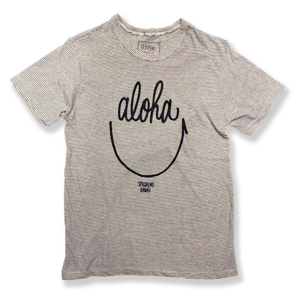 specialme Aloha Smile striped Tee_Men's
