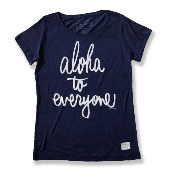 specialme Aloha to everyone logo Tee_Women's