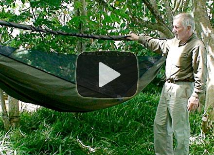 Hennessy Hammock Set up and help videos