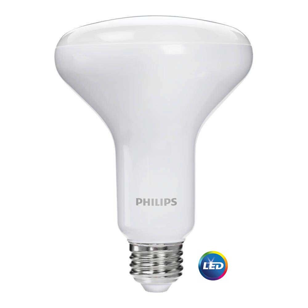 Philips 65-Watt Equivalent Warm/Soft White BR-30 LED (6-Pack)