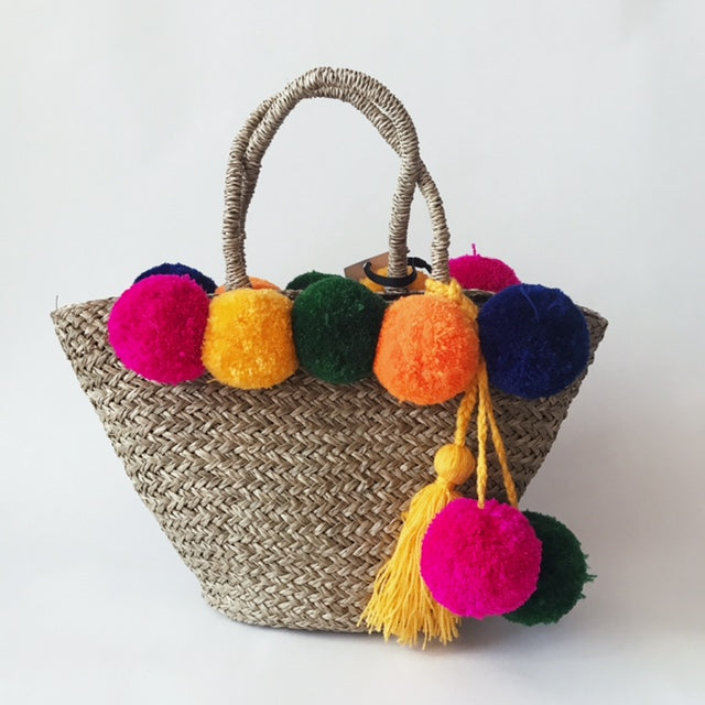 PomPom and Tassle Bag