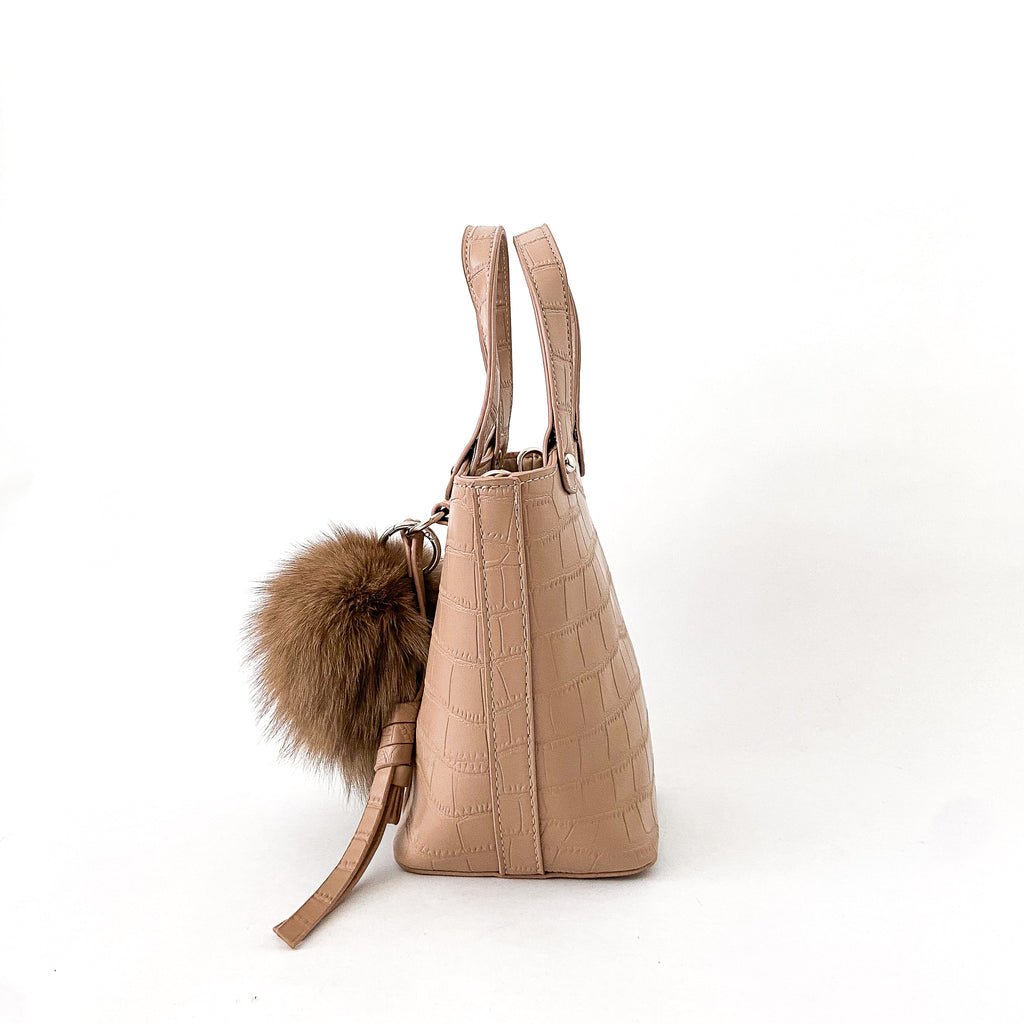 Maisie Vegan Leather - Sand