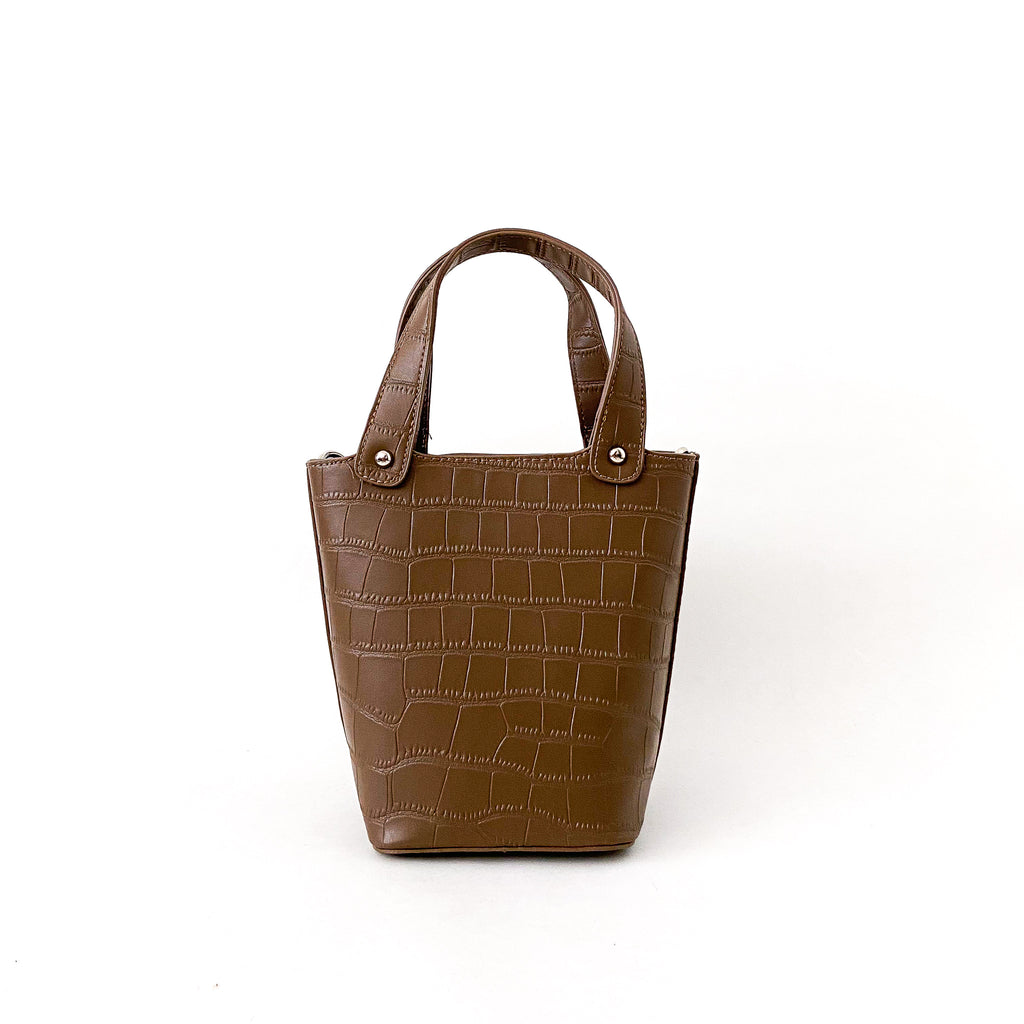 Maisie Vegan Leather - Chocolate