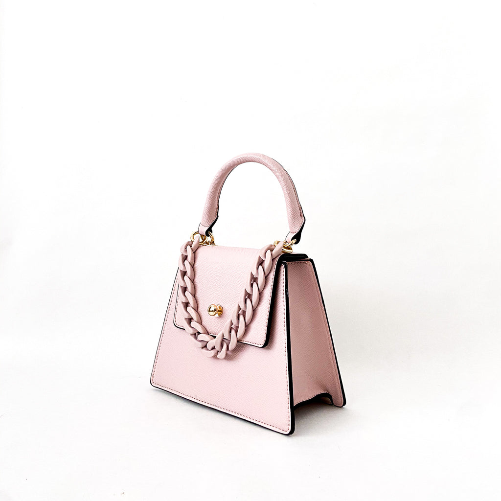 Emma Vegan Leather - Pink