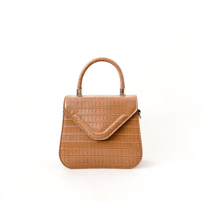 Darcie Vegan Leather - Brown Sugar