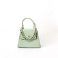 Emma Vegan Leather - Pastel Green