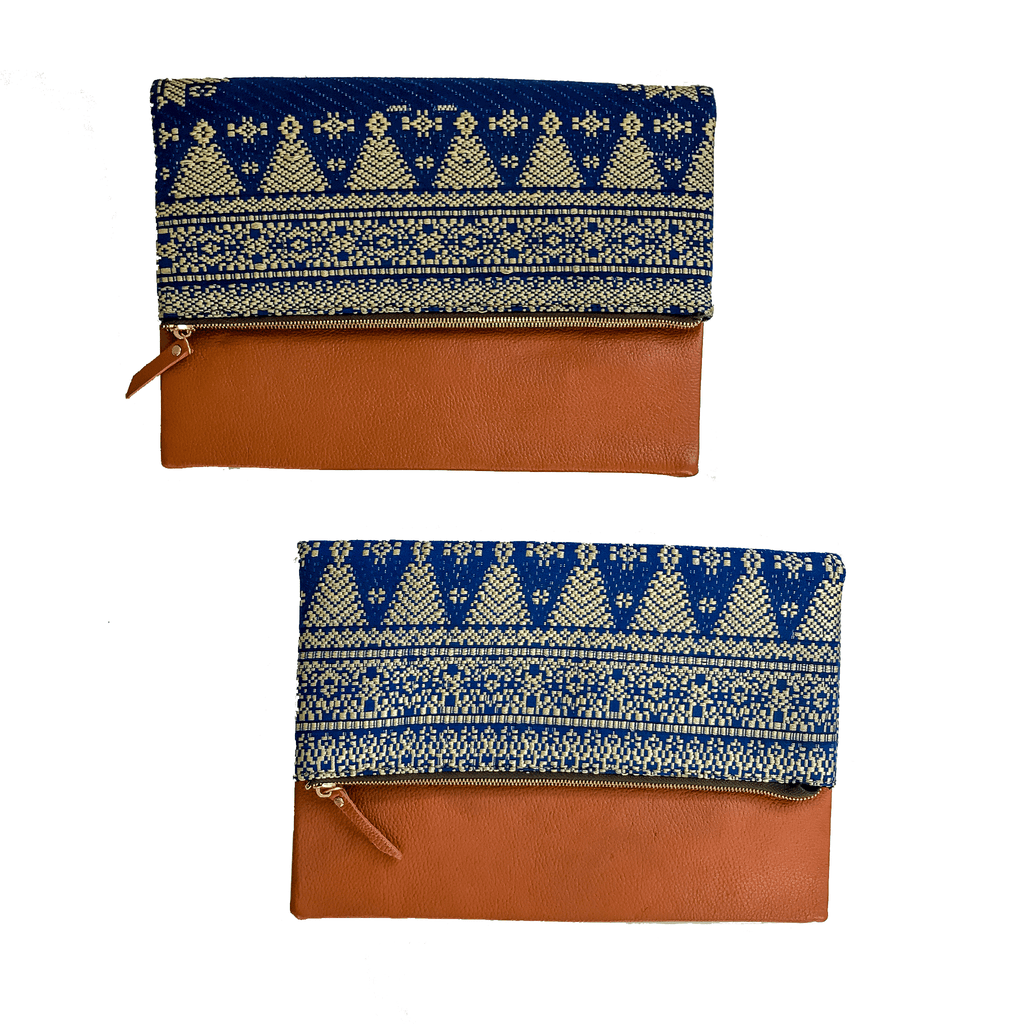 Ikat Indonesia clutch fair trade bohemian