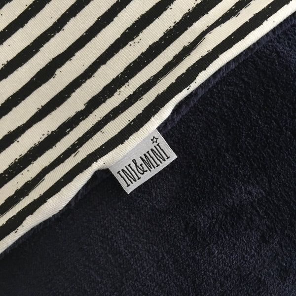 Wagendeken 'Wellness fleece & Stripes/Wilgentak'