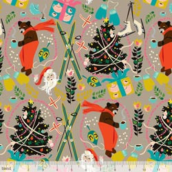 A Bear's Holiday - Taupe