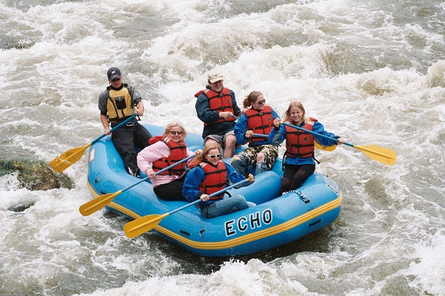 White Water River Rafting in Colorado