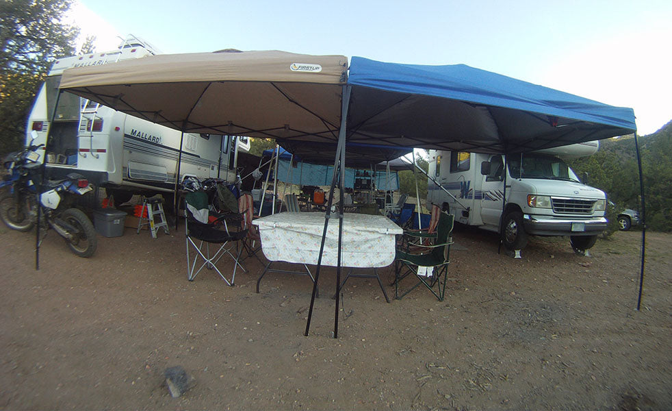 Community Camping with the RVs