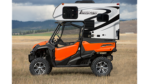 Camping options with OHV toys-Truck Camper