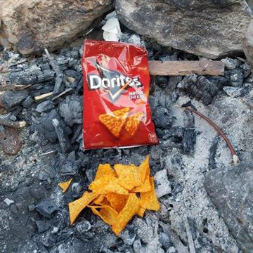 Doritos Fire Starter Test