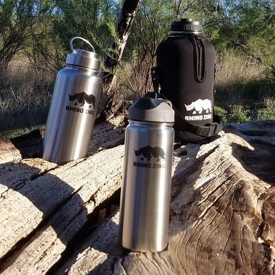 Rhino Zing Bottles and Lids