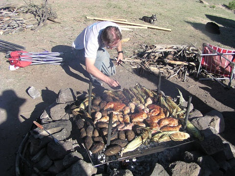 2004 Texas Creek Camp Site-Bobs famous Chicken Dinner