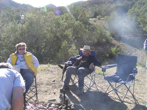 2004 Texas Creek Camp Site-Sonja and Donny