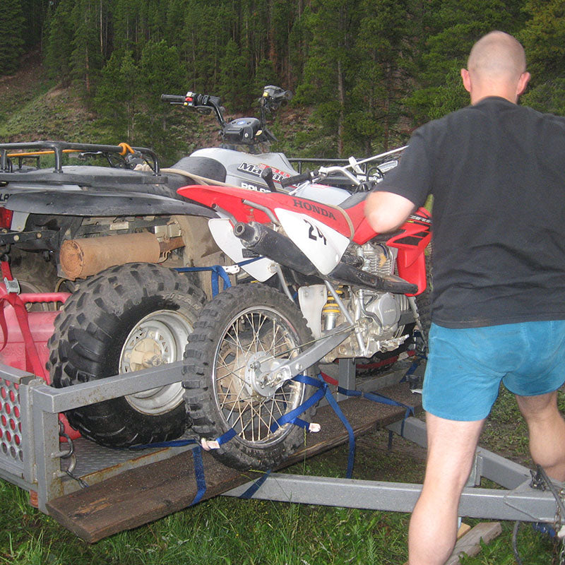 2007 Camp Hale Camp Site-Very full trailer