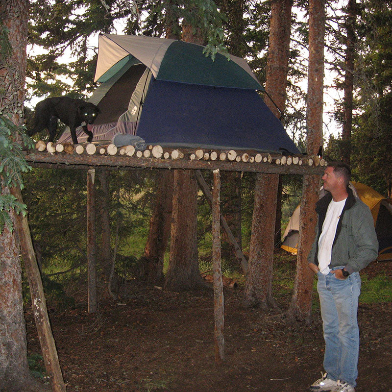 2007 Creede Area Camp Site-Robby's Tree House-Pokey