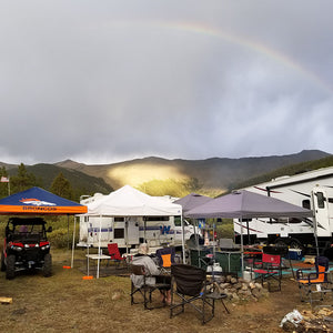 2018 Tin Cup Area Camp Site Rainbow