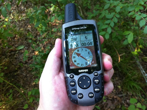 Hand-Held GPS for Geocaching