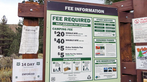 Camping Cost and Time Limits