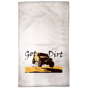 Got Dirt? Fun with your 4WD! Novelty Funny Hand Towel - CampWildRide.com