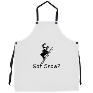 Got Snow? Cool Snowboarder! Novelty Funny Apron - CampWildRide.com