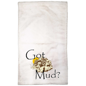 Got Mud? Fun with your Back Road Vehicle! Novelty Funny Hand Towel - CampWildRide.com