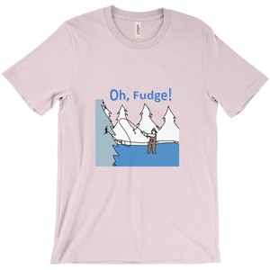 Oh, Fudge! T-Shirt Fisherman with Line Stuck - CampWildRide.com