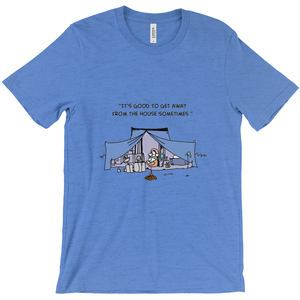 Camping Overkill T-Shirt Good to Get Away from the House - CampWildRide.com