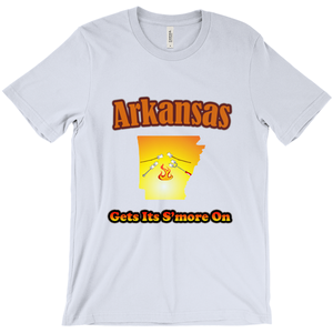 Arkansas Gets Its S'more On! Novelty Short Sleeve T-Shirt - CampWildRide.com