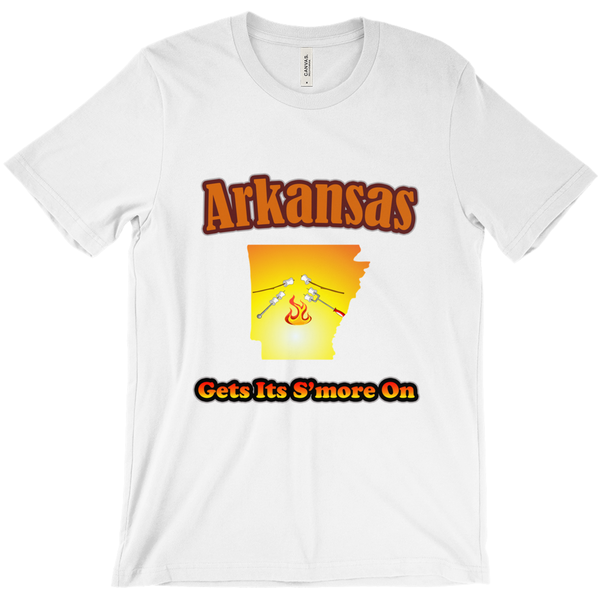 Arkansas Gets Its S'more On! Novelty Short Sleeve T-Shirt