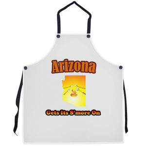 Arizona Gets Its S'more On! Novelty Funny Apron - CampWildRide.com